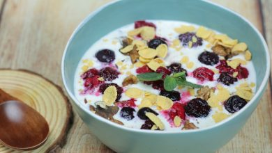 Photo of Muesli Recipe with Nuts and berry's for healthy eating