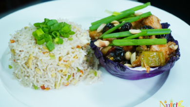 Photo of Authentic Kung Pao Chicken Recipe with Egg Fried Rice