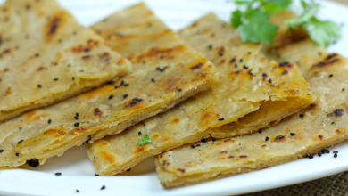 Photo of Crispy Lachha Paratha Recipe with Nigella seeds
