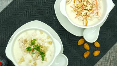 Photo of Cream of Mushroom Soup Recipe and Cream of Almond Soup Recipe