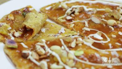 Photo of Sweet Paratha Recipe with coconut and nuts