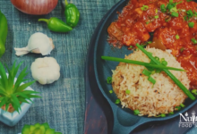 Photo of Clay Pot Chicken Manchurian Recipe with Garlic Fried Rice