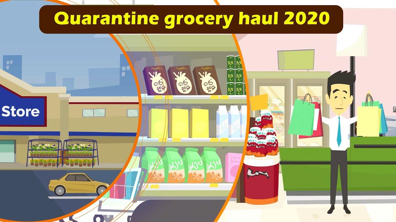 Quarantine meal plan and quarantine grocery haul 2020